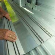 M1 goedgekeurde aluminium vloer
